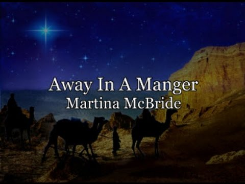 Away In A Manger with Lyrics