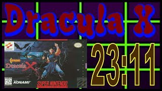 Castlevania: Dracula X Speedrun Bad Ending% 23:11