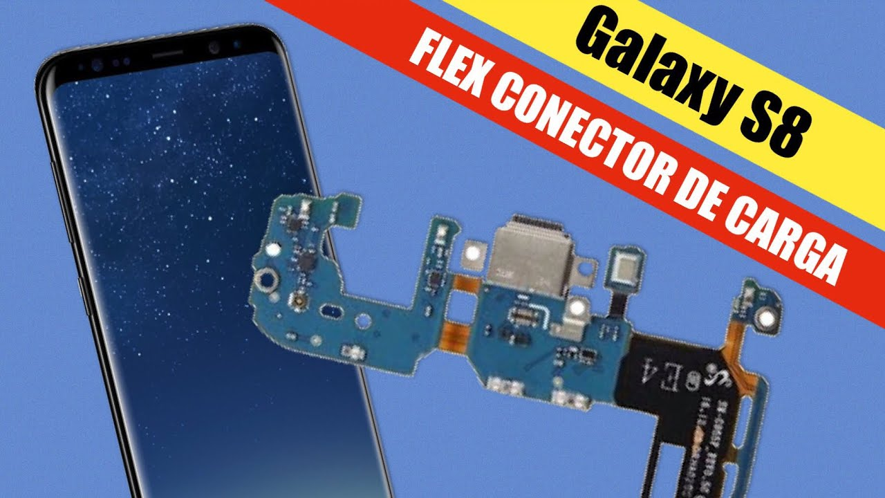 f38c6a4807d Galaxy S8 Conector de Carga Flex, Doc de Carga Como Trocar - YouTube