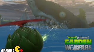Plants vs. Zombies: Garden Warfare - The Giant Shark Zombie in Port Scallywag - PVZ Garden Warfare