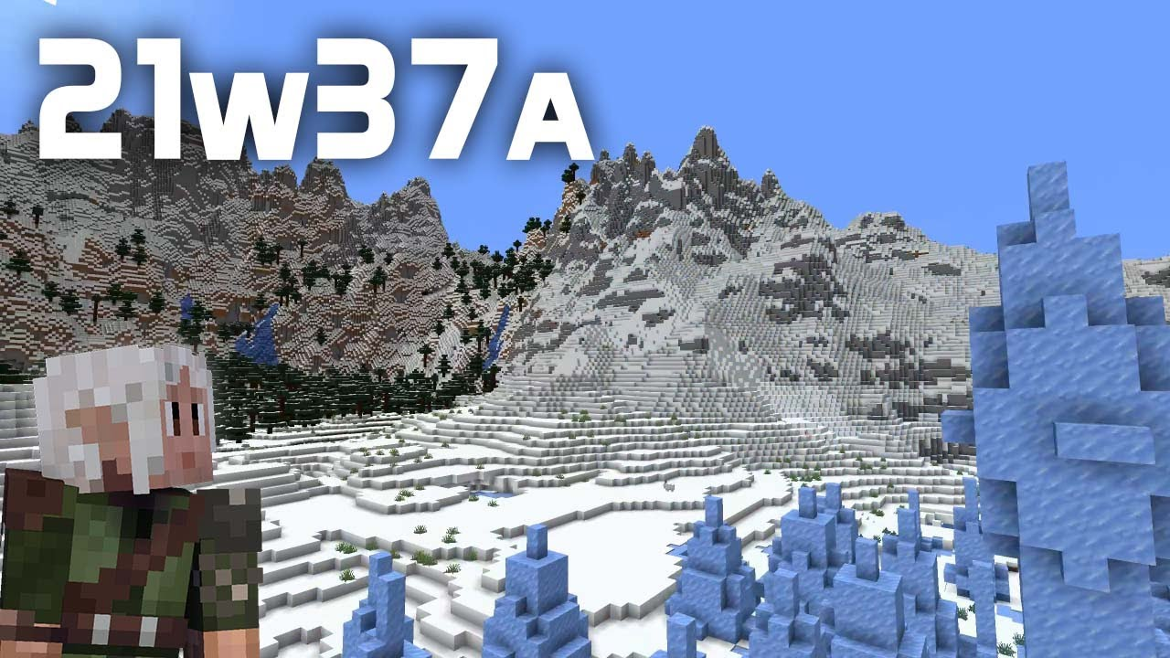 What's New in Minecraft Snapshot 21w37a? ALL The World Generation Changes!