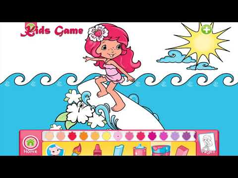 Cilek Kiz Yaz Eglencesi Boyama Oyunu Kids Game Youtube