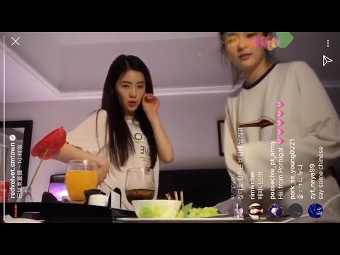 190426 레드벨벳 Red Velvet 'SAPPY'  Instagram Live