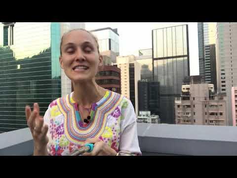 Bargaining in China - 64/100 Daily Video - Ashley Talks - Ashley Galina Dudarenok
