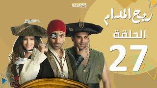 بالفيديو- منة حسين فهمي لم تسلم من مزاح زوجها أحمد فهمي في