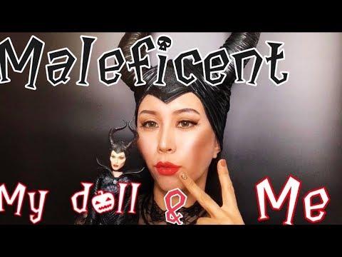 Sub Maleficent Makeup 말레피센트 메이크업 Maleficent Doll Repainting 인형 리페인팅 Two Maleficent