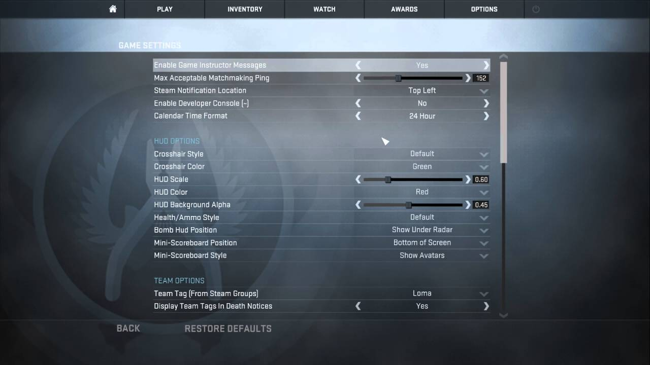how to toggle console in cs go