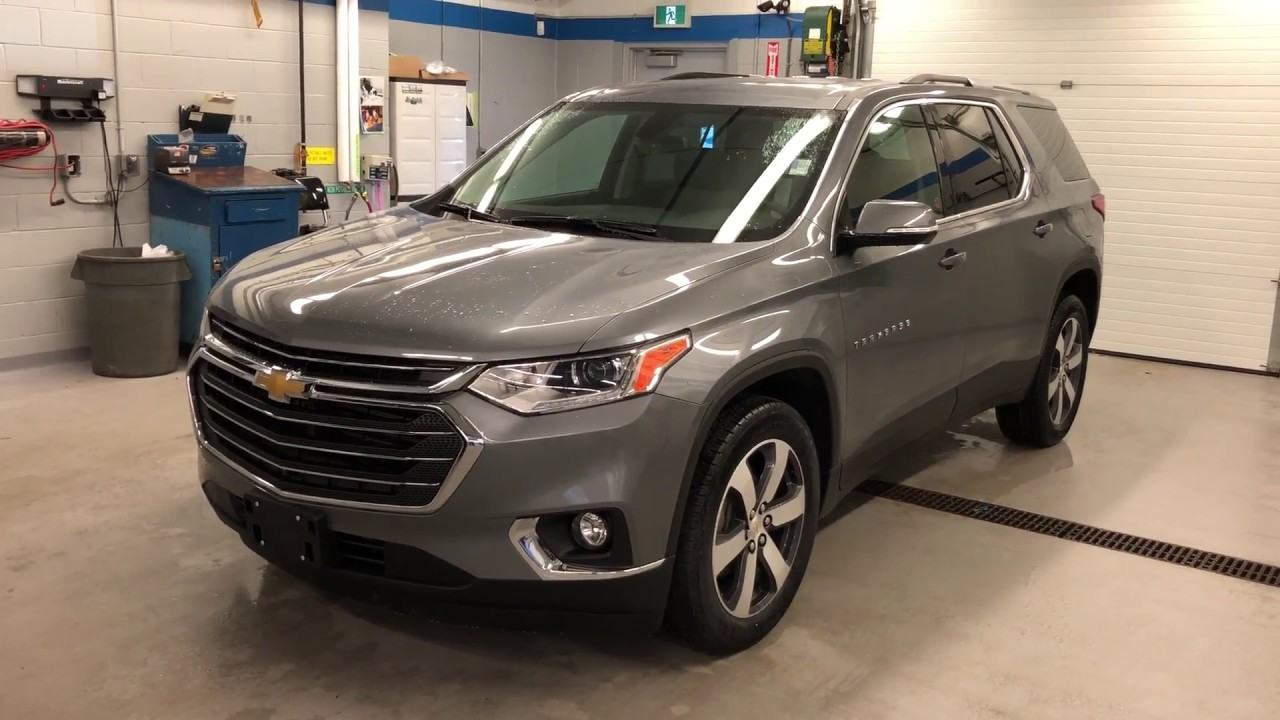 Dodge Journey Crossroad >> 2018 Chevrolet Traverse LT True North AWD Satin Steel Metallic Roy Nichols Motors Courtice ON ...