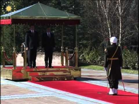 Arnavutluk Cumhurbaşkanı Bamir Topi'nin Ziyareti - 26.11.2008