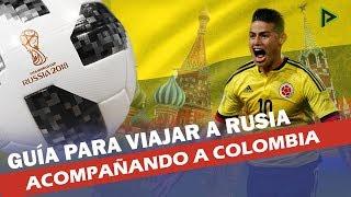 ¿Acompañarás a Colombia al Mundial de Rusia? ¡No te pierdas estos consejos!