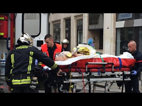 "Paris Shooting Gunmen Attack Satirical French Magazine ""Charlie Hebdo"" - TOI"