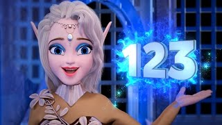 Learn Counting 1 - 20 with Alisa from Frozen Land