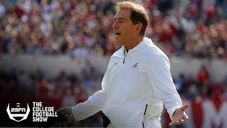 Should Alabama be penalized for weak non-conference schedule? | The College Football Show thumbnail