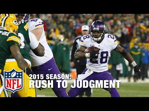 Rush To Judgment (2015 Season) | Adrian Peterson, Doug Martin & More! | NFL
