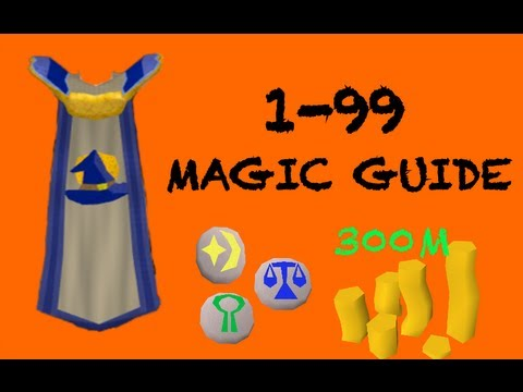 Runescape: 1-99 Magic Guide to 300mil!