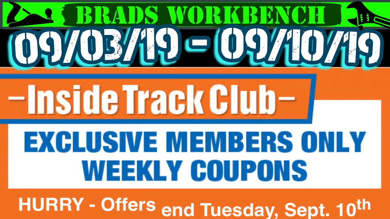 Harbor Freight WEEKLY Inside Track Club COUPONS!!! 09/03 - 09/10