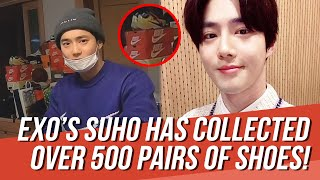 EXO's Suho Has So Many Shoes H…