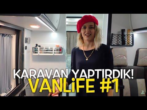 Karavan Yaptırdık! - VanLife #1
