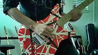 Very easy Eddie Van Halen dive bomb + talking to Michael Anthony and Satch.