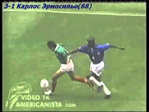 QWC 1998 Mexico vs. Costa Rica 3-3 (09.11.1997)