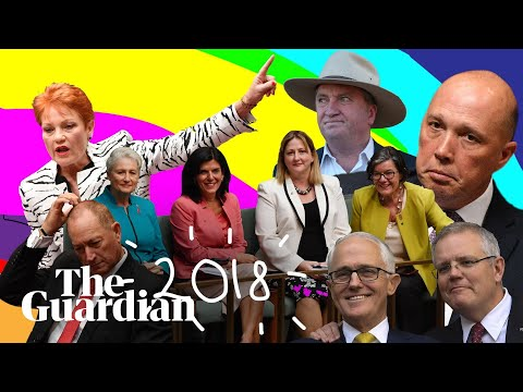 A fair dinkum flip-flop: a mashup of Australian politics for 2018