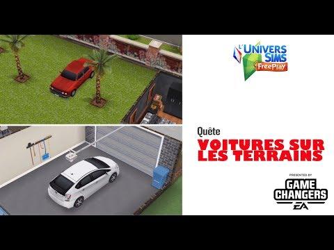 The Sims Freeplay - Voitures sur les terrains - Accès Anticipé