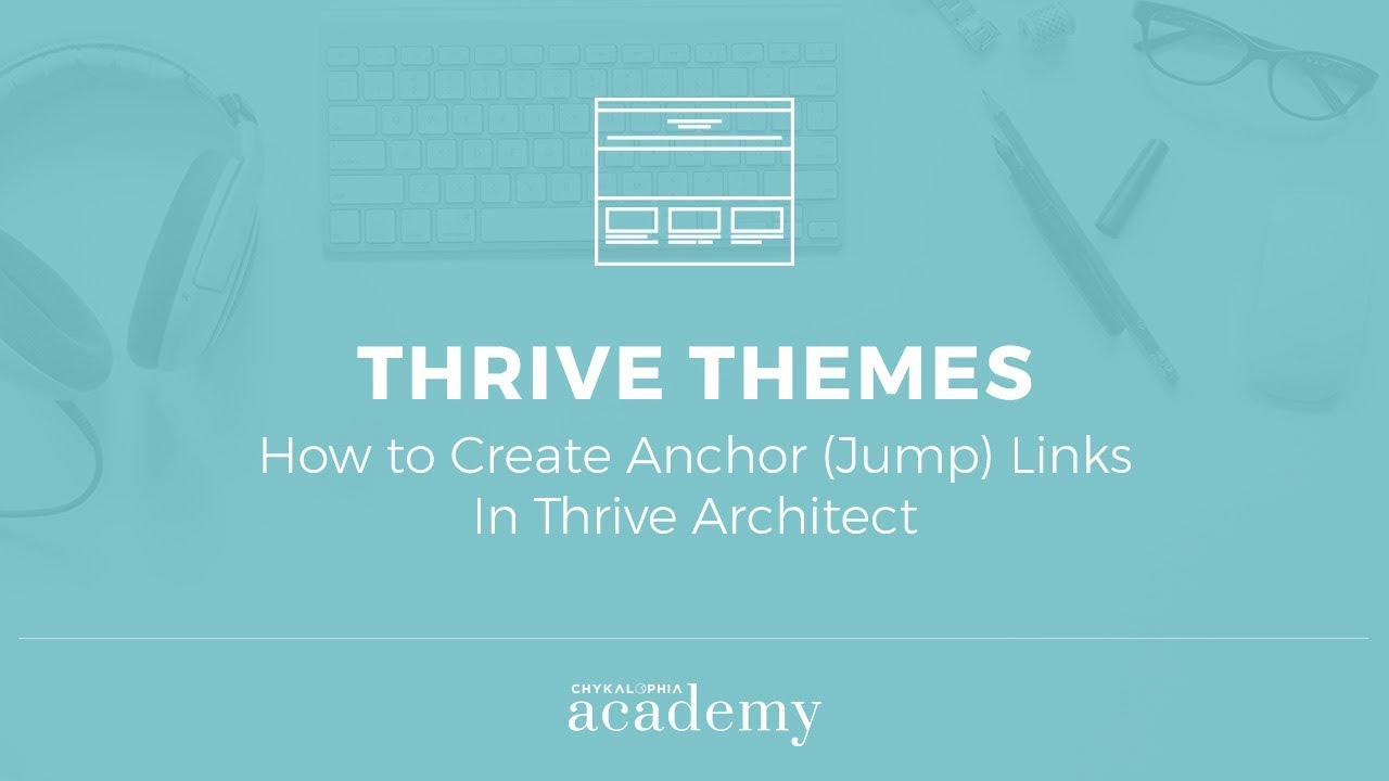 How To Create Anchor Jump Links In Thrive Architect