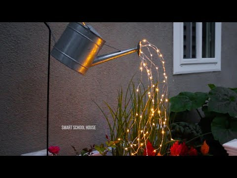 40021b2e6638 Glowing Watering Can Made with Fairy Lights - YouTube