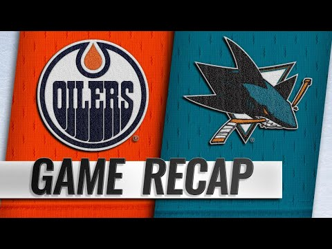 Kane, Donskoi lead Sharks to 7-2 win against Oilers