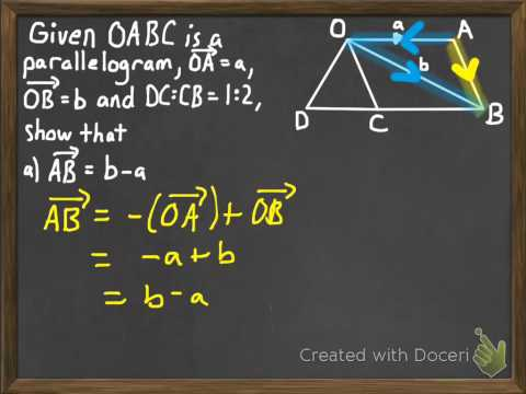 Geometric Proofs Using Vectors