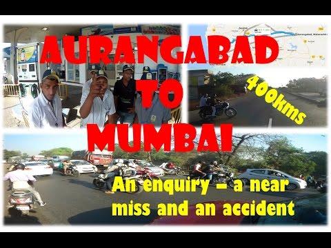 Aurangabad to Mumbai via Pune (Lonavla)    SJ6 Legend    400Kms   