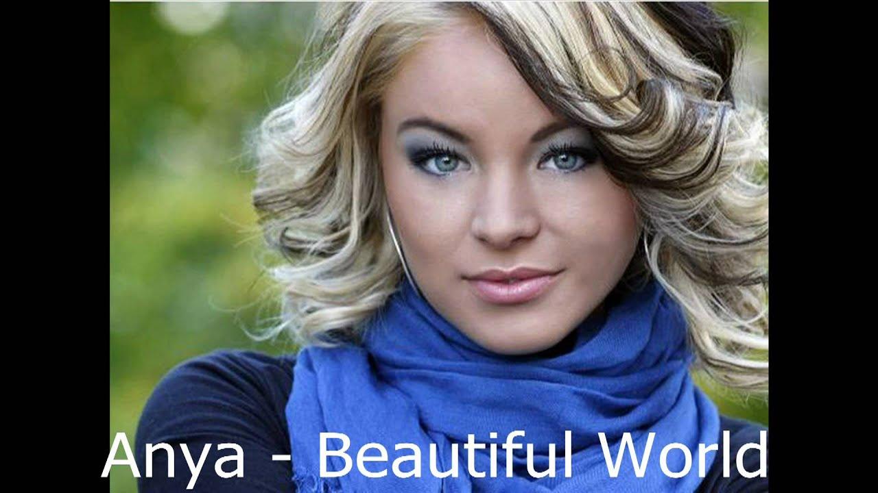 anya   beautiful world   new single 2010   youtube