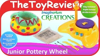 Junior Pottery Wheel Imaginarium Creations Unboxing Toy Review by TheToyReviewer