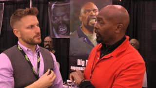 Eugene Clark interviews JAMES FRAZIER, one of the creators of  the WALKER STALKER CONVENTIONS!!!