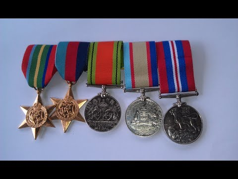 How to Mount Medals on a Medal Bar, Plus Replacing Ribbons -Simple,Easy - Step by Step Instructions