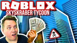 MONEY is POURING in! 🏢💲:: Vercinger in Roblox Skyscraper Factory Tycoon Danish EP. 1