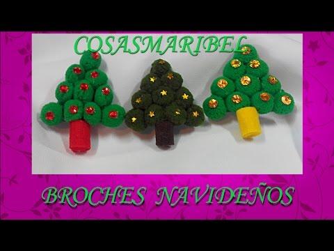 Broches para regalar en navidad adornos navide os christmas ornaments youtube - Adornos para regalar en navidad ...