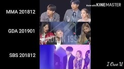 Rosekook at GDA 2019 - Rose & Jungkook - Closed to you