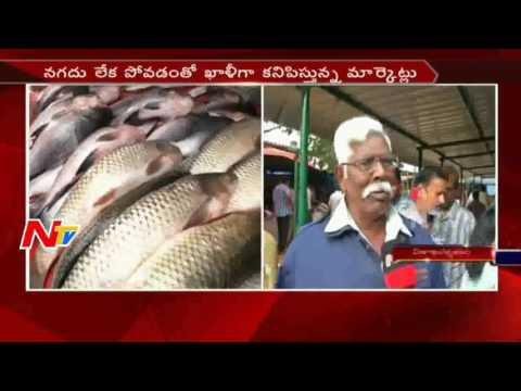 Fish Merchant Face Problems with Rs 2000 Note || Demonetisation || NTV