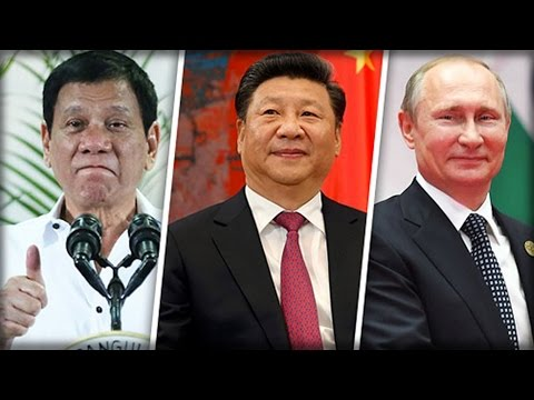 PHILIPPINES PRES. DUTERTE OPEN TO ALLIANCE WITH RUSSIA & CHINA