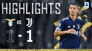Lazio 1-1 Juventus | Ronaldo Scores Again in the Capital | Serie A Highlights