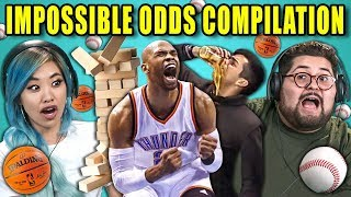 Download Adults React To Impossible Odds Compilation (Never Tell Me The Odds) Mp3 and Videos