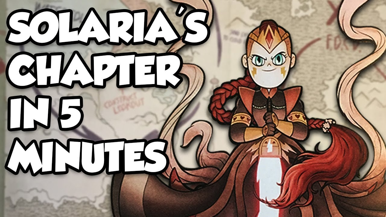 Solaria S Chapter In 5 Minutes Magic Book Of Spells Chapter 3