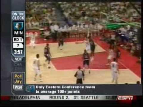 Yi Jianlian from the NBA Draft
