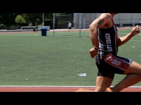 How to Become a Professional Sprinter | Sprinting