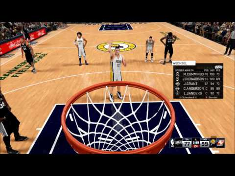 NBA2K16 The Spurs Way Season 4 Game 10 #Indiana Pacers