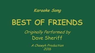 Best of Friends - Karaoke (Dave Sheriff version)
