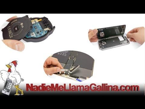 Guía del Microsoft Lumia 640 LTE: Cambiar flex con cámara frontal y sensor de proximidad