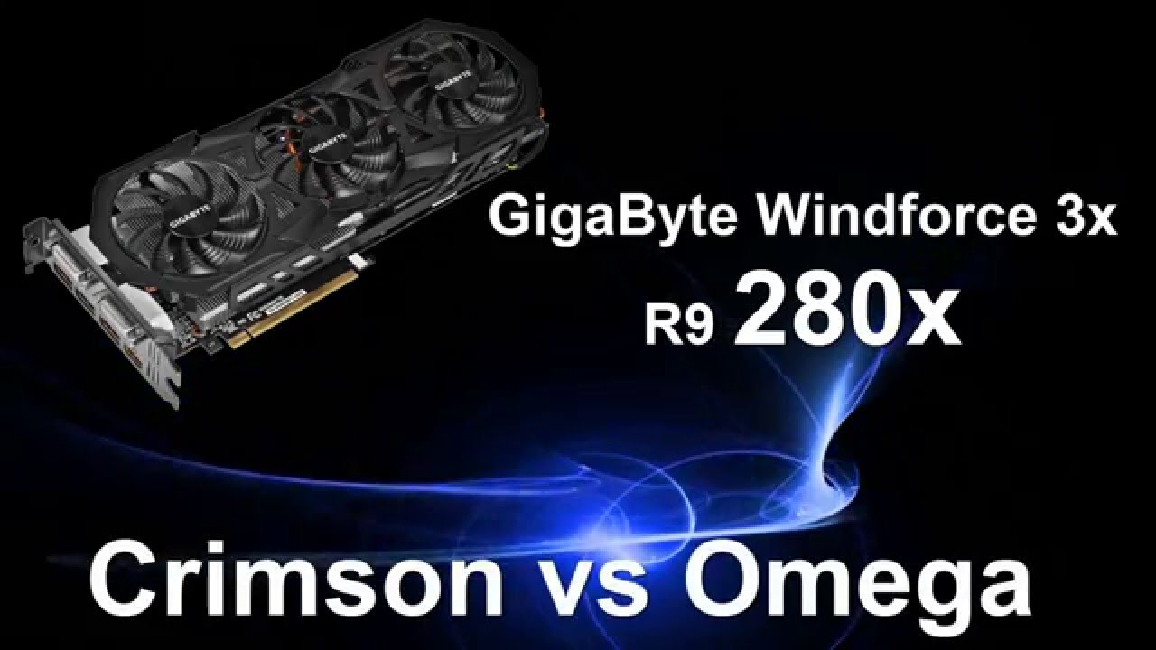 AMD Drivers: CRIMSON Vs Catalyst 15 (OMEGA) || R9 280x Benchmarks