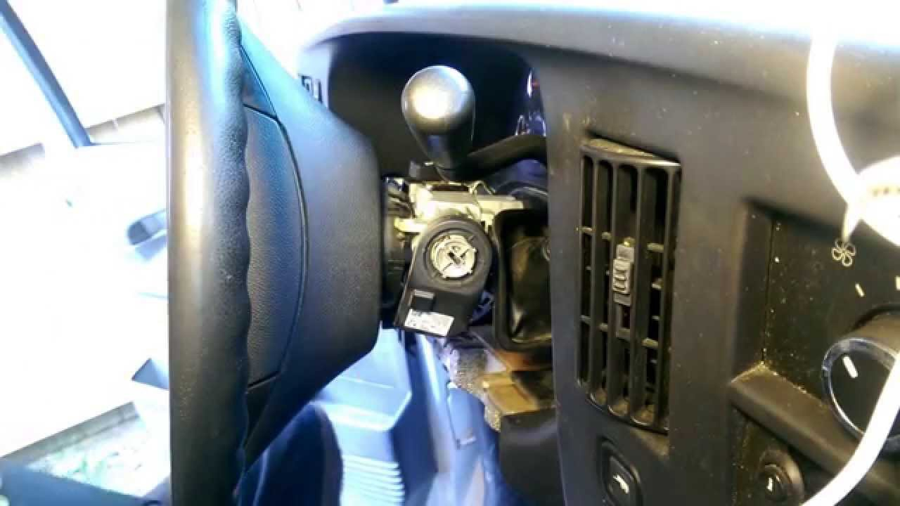 2008 Chevrolet Express 1500 Ignition Lock Cylinder Repair